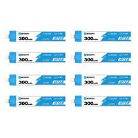 1s 300mAh 30/60C BETA LiHV 8-Pack BT2.0