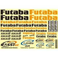Futaba decaler til fly 245x185mm