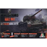 World of Tanks - T-34/85 ITALERI 1:35 - Limited