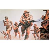 Airfix WWII 8th Army figurer 1/76 Airfix plastmodell