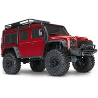 Traxxas TRX-4 Scale Crawler Land Rover RØD Defender D110 RTR